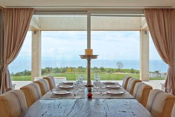 Villa Linda-Dining area