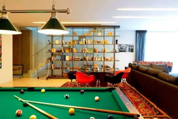 Villa Linda-Games room