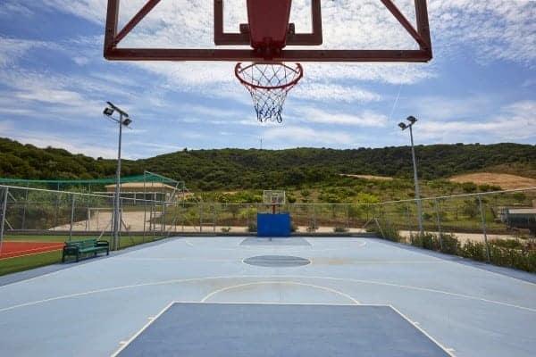 Villa Linda-Basket court