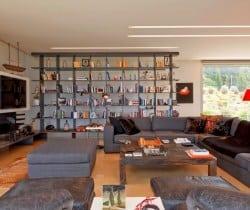 Villa Linda-Living area