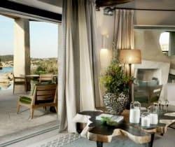 Villa Antas: Interior Terrace