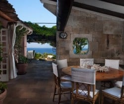 Villa Fresia - Al fresco dining area