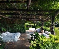 Villa Fresia -Outside chill out area