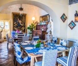 Villa Nynpha: Dining area