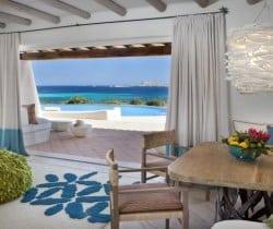 Villa Smeralda-Dining area