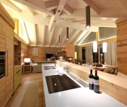 Chalet Croce: Kitchen
