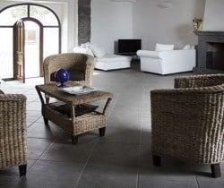 Villa Vittoria: Living and dining area