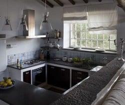 Villa Vittoria: Kitchen