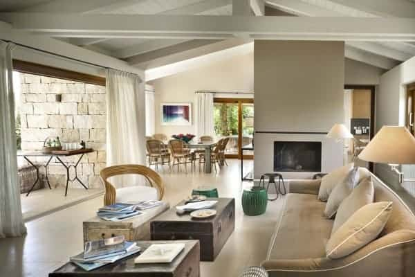 Villa Amata-Living area