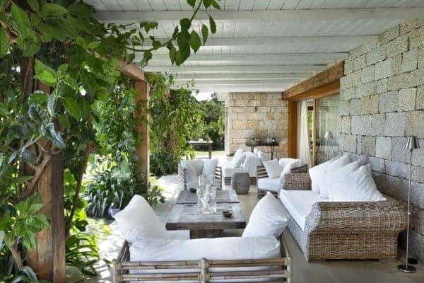 Villa Amata-Outdoor chill out  area