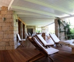 13Villa Elinor - Outdoor chill out area