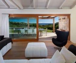 Villa Strelizia: Living area