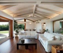 Villa Ulivo: Living area