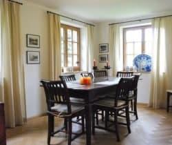 Chalet Muragl: Dining room