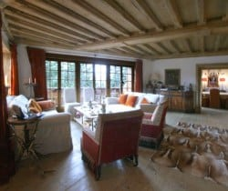 Chalet Rein: Living room