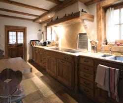 Chalet Rein: Kitchen