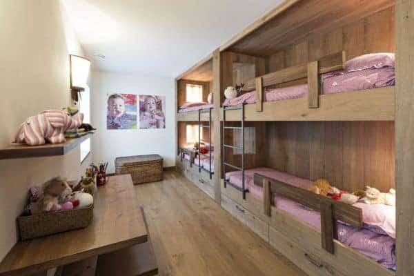 Singita-Bunk bedroom