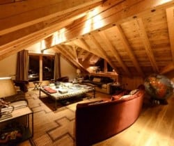 Chalet Singita-Living area