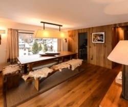 Chalet Singita-Dining room