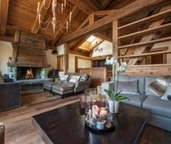 Chalet Abacus: Fireplace