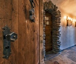Chalet Abacus: Entrance hall