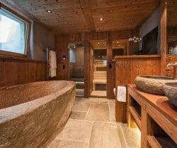 Chalet Abacus: Spa area