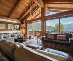 Chalet Abacus: Living area