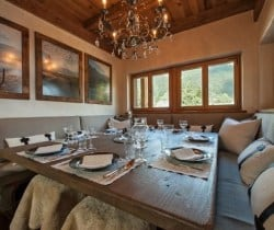 Chalet Abacus: Dining area