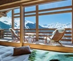 Chalet Azalea: Living area