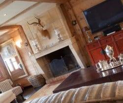 Chalet Elle: Living room