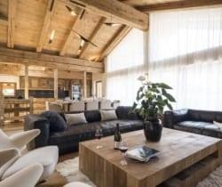 Chalet Mirach: Living area