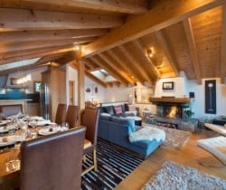 Chalet Soul: Dining area