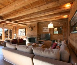Chalet Vail: Living area